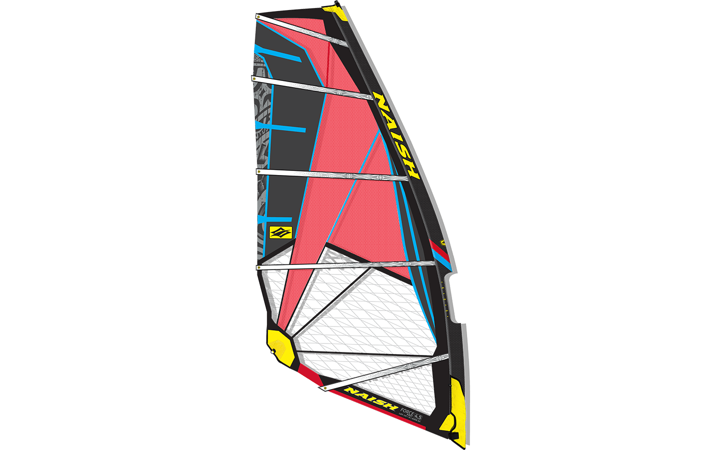 Naish Sail Force FIVE 2016 Black/Red
