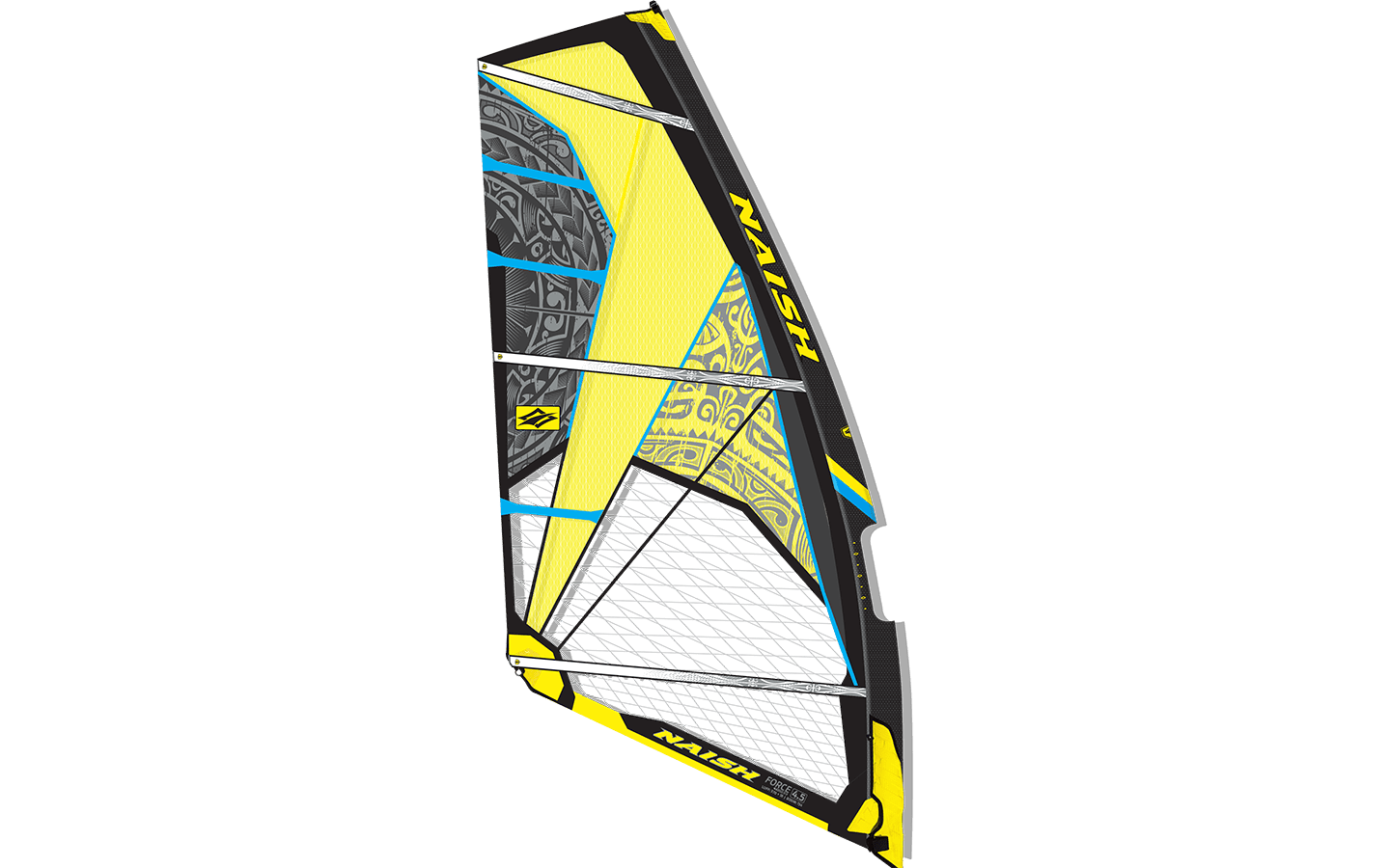 Naish Sail Force THREE 2016 Black/Yellow