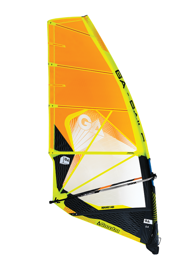 GA-Sails 2018 Manic HD  5.8 yel/or