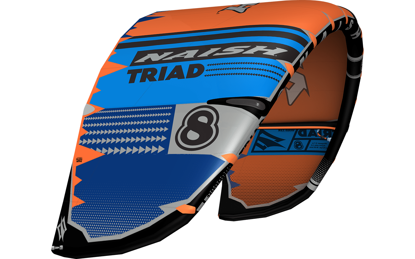 Naish Triad Kiteset 12.0-145