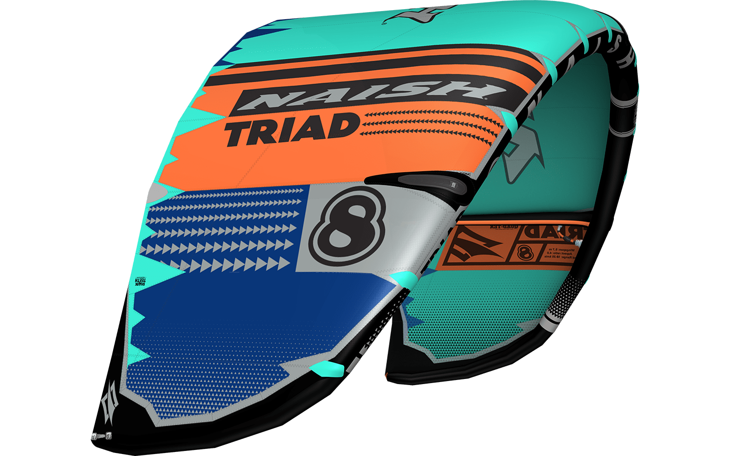 Naish Triad Kiteset 8.0-135