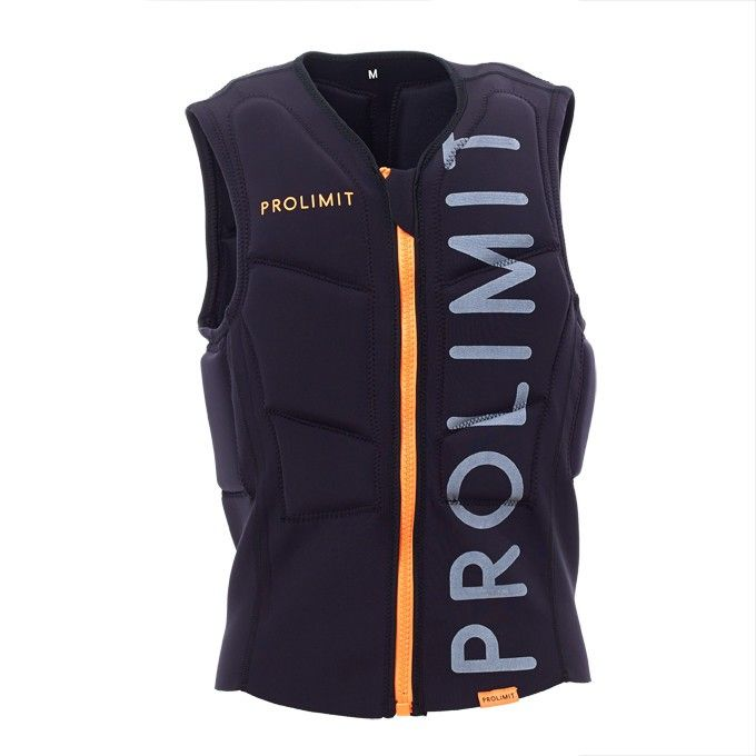 Prolimit Vest Stretch Half Padded FZ Black