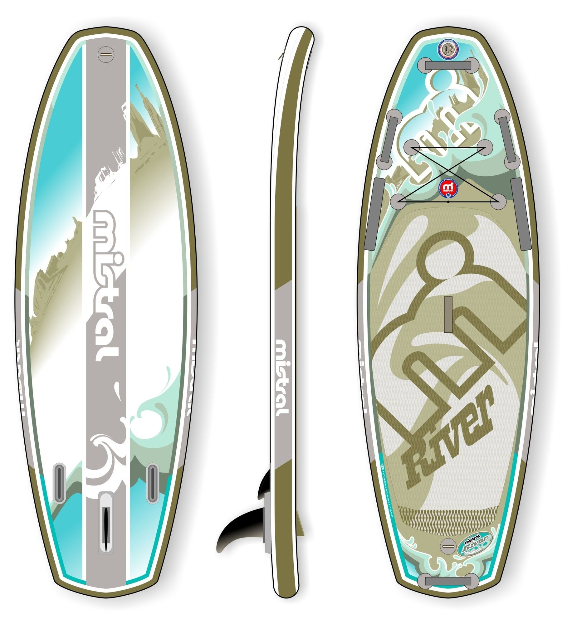 Mistral Colorado inflatable 9'4