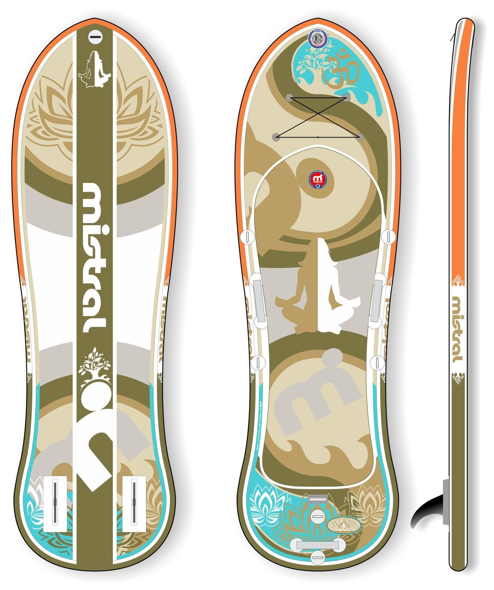 Mistral Lotus inflatable 10'0