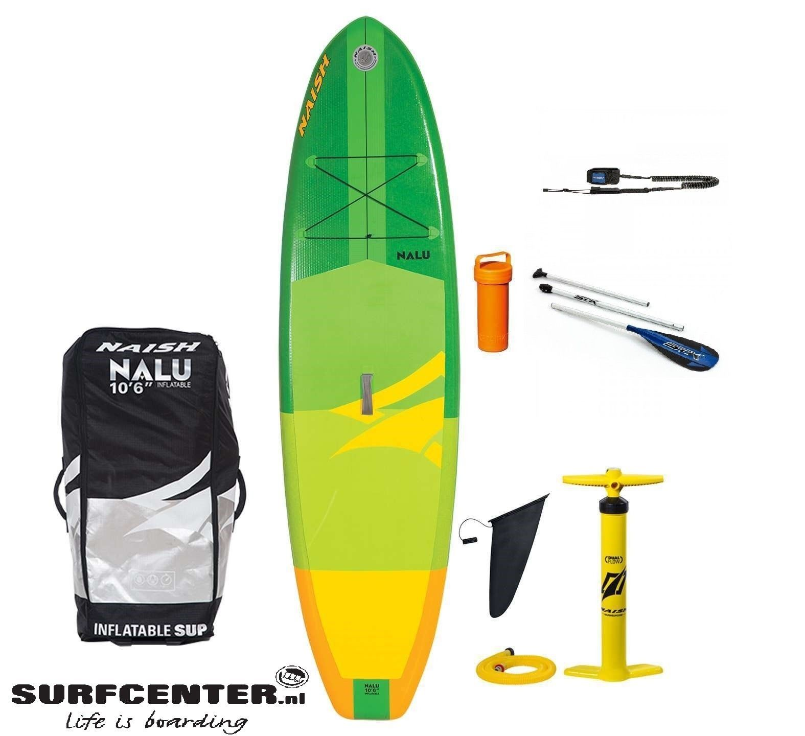 "Naish 19 SUP Air Nalu Inflatable 10'6""X32"
