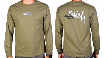 Naish Long T-Shirt Diamond Green