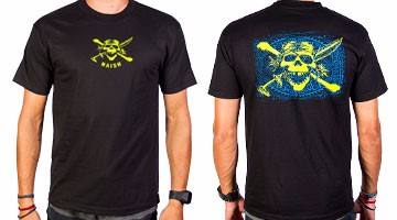 Naish T-Shirt Skull Black
