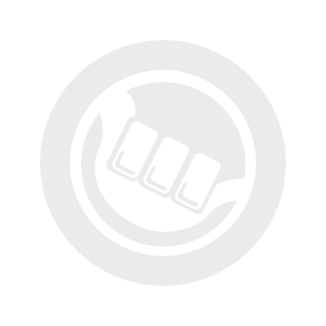 Unifiber double pin locker (hard plastic) white