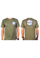 Naish T-Shirt Circle Green